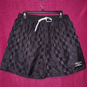 Umbro Vintage Checkerboard Shorts